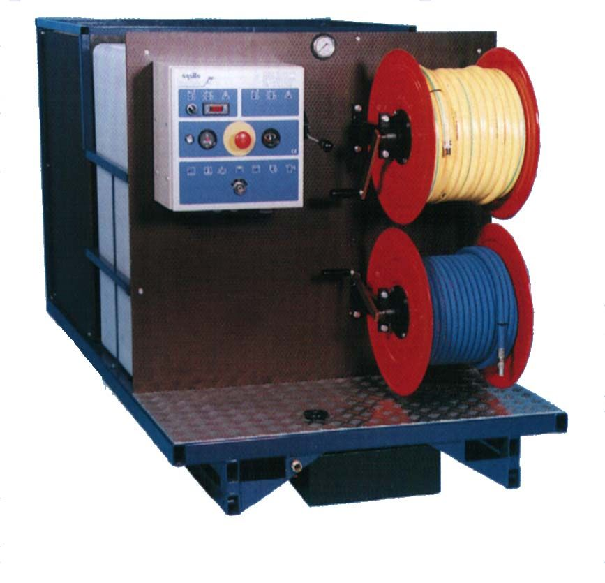 Sd404 nettoyeur haute pression autonome eau chaude 400bar for Haute pression