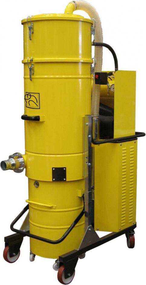 aspirateur industriel triphase ts400pn avec decolmatage des filtres automatique. Black Bedroom Furniture Sets. Home Design Ideas